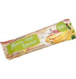 Батончик фруктовый Банан-чай-мята