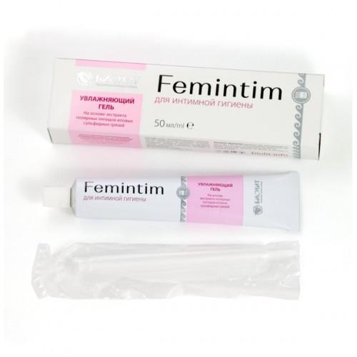 Купить гель увлажняющий для интимной гигиены Femintim